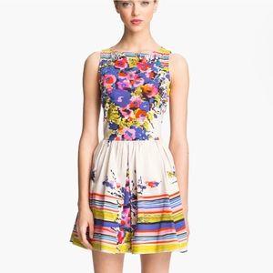 RED VALENTINO Bouquet Print Dress